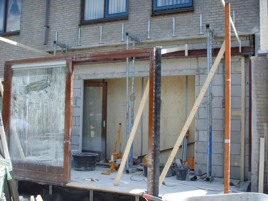 aanbouw van 2.5 meter