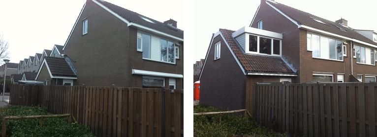 Garage met dakopbouw in Koog aan de Zaan   Dekker Bouw