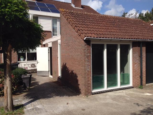 Garage ombouwen naar kantoor