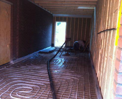 garage met dakopbouw