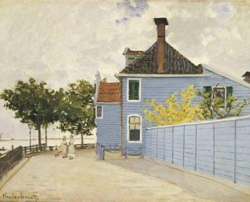 Het-blauwe-huis-monet-1871