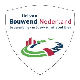 Bouwbedrijf met Logo Bouwend Nederland