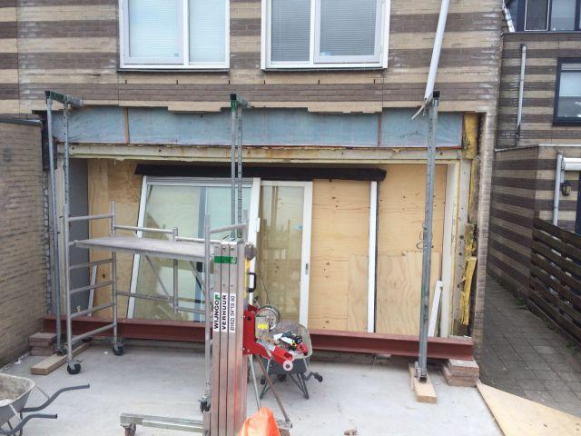 Uitbouw met Lichtstraat aan Woonkamer in Zaandijk - Dekker Bouw