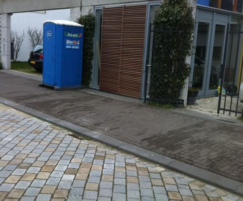 Aanbouw in IJburg Amsterdam met Sedum dak
